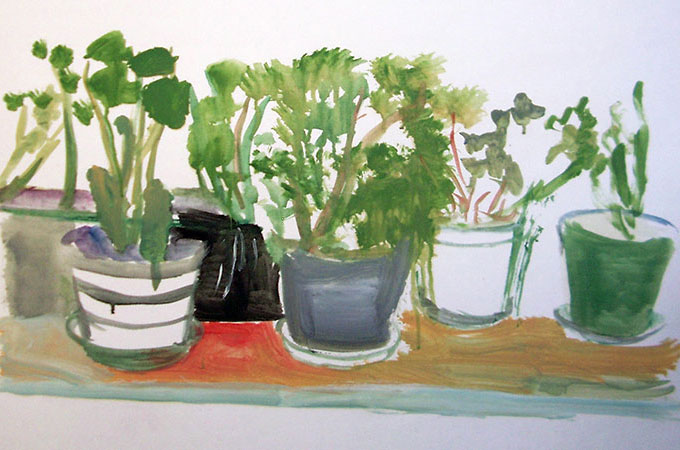 Potted Plants, 1998