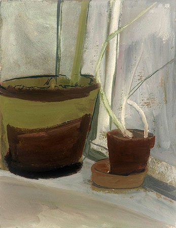 Large and Small Potted Plant, 1997