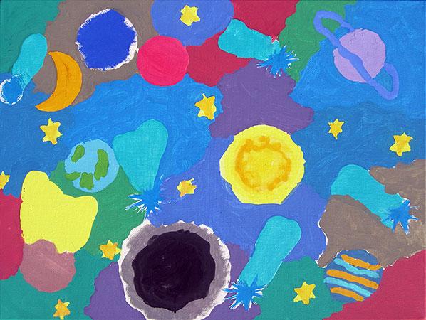 Vesolje z enim meteoritom (vesolje 3), 2014
