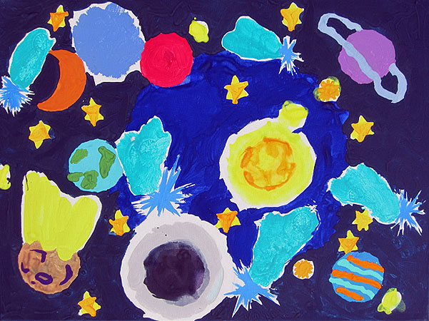 Vesolje z enim meteoritom (vesolje 4), 2014