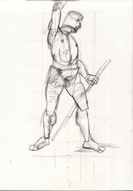 Moška figura 1, 2016