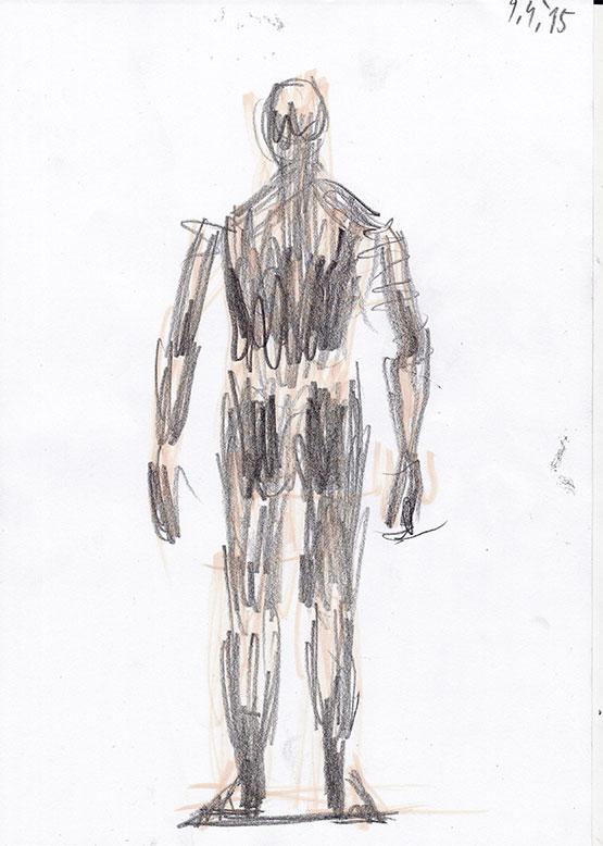 Moška figura 3, 2015
