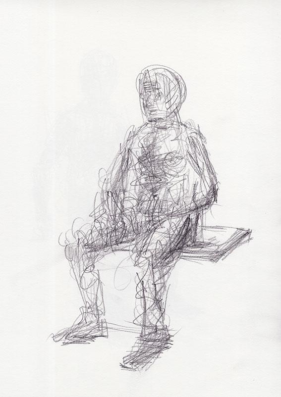 Sedeča figura, 2015