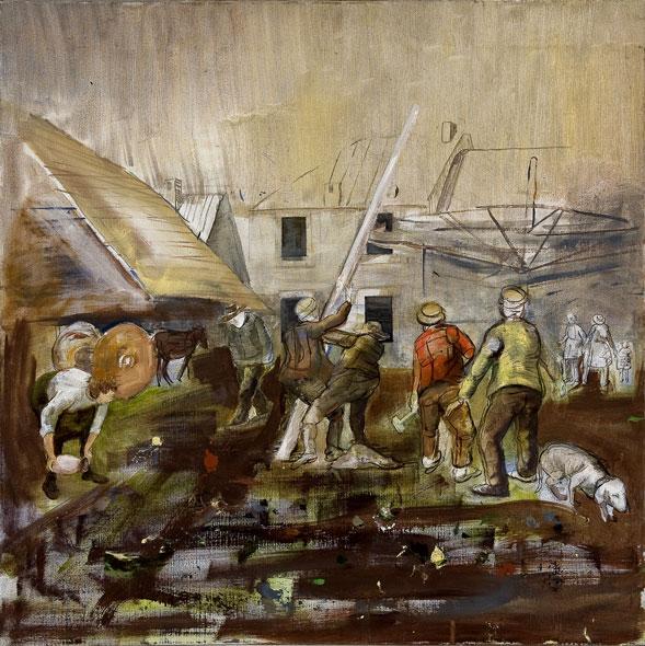 Postavljanje mlaja, 2007