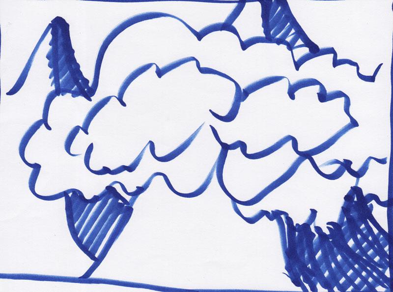 Gore in oblaki 95, marec 2017
