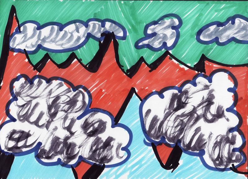 Gore in oblaki 69, March 2017