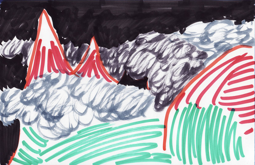 Gore in oblaki 75, marec 2017
