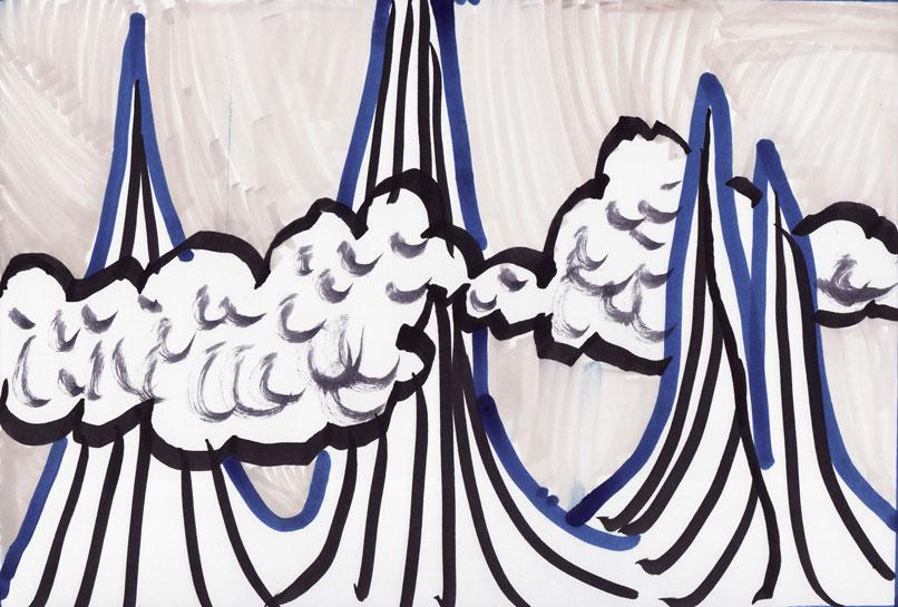 Gore in oblaki 80, marec 2017