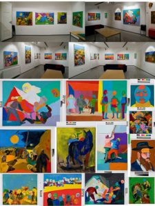 Color and Space, Mikado studio and gallery, Ljubljana