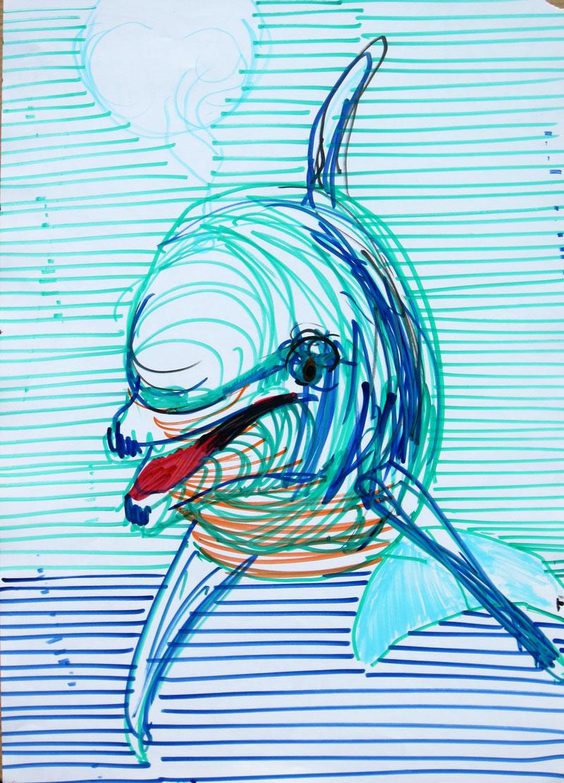 Delfin, avgust 2017