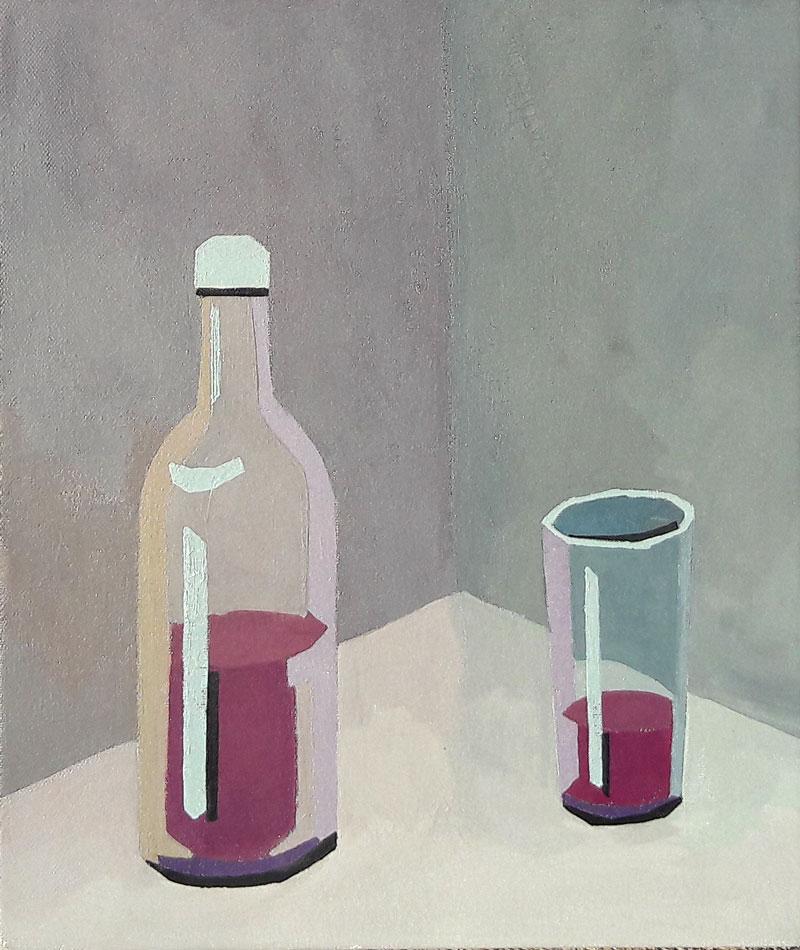 Študija s sivimi, umazanimi barvami, 2010