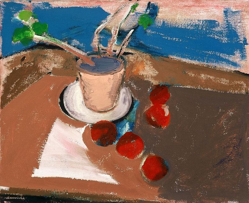 Lončnica z jabolki, 2000