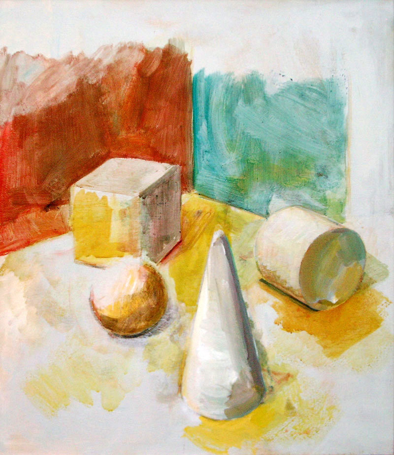 Bela geometrijska telesa, 2002