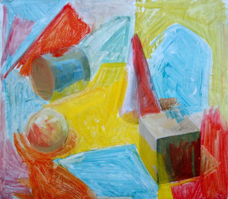Geometrijska telesa, 2002