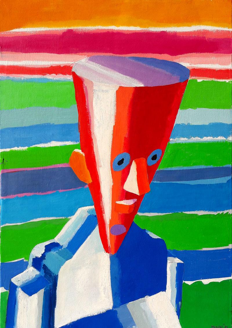 Velka stožčasta glava, 2010