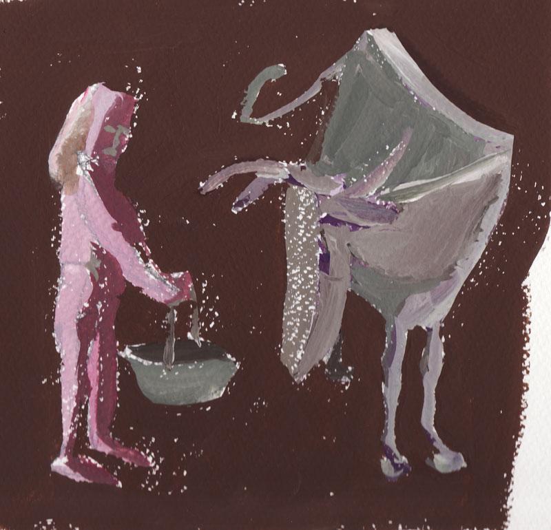 Krava in dekle, 2009