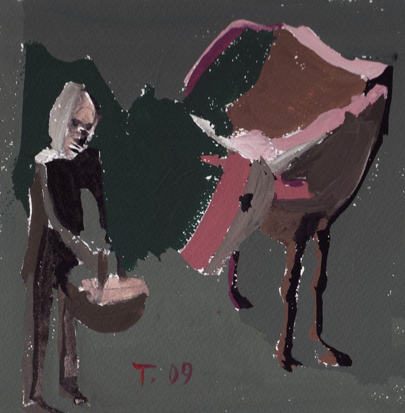 Krava in človek, 2009
