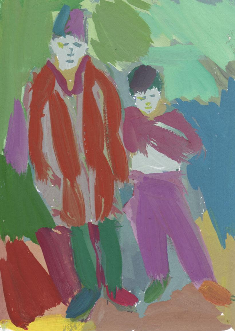 Nenasičene barve, 2009