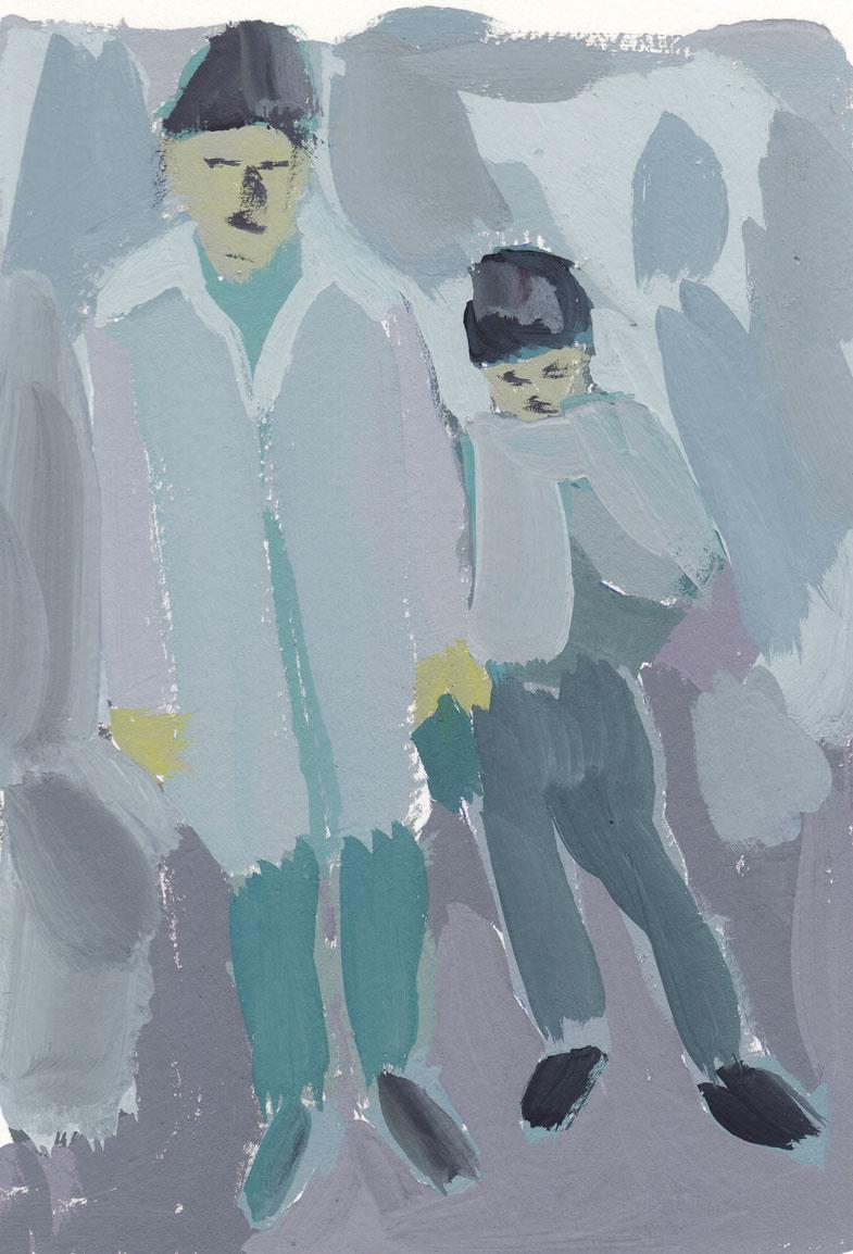 Barve, umazane s sivo, 2009