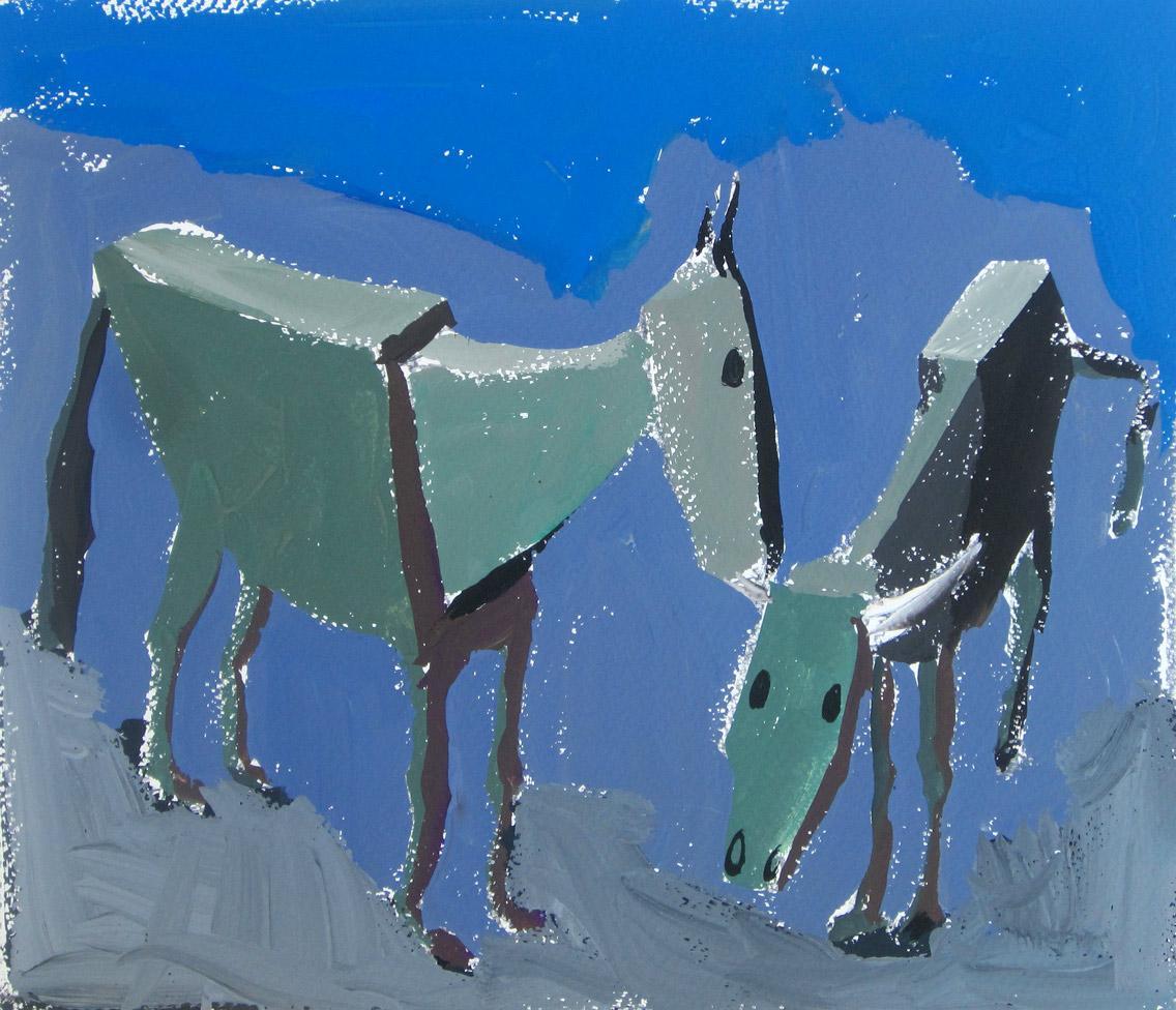 Krava in konj, 2009