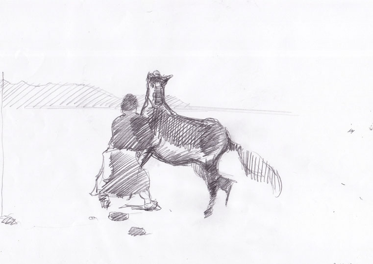 Lovilec konj 1, 2007
