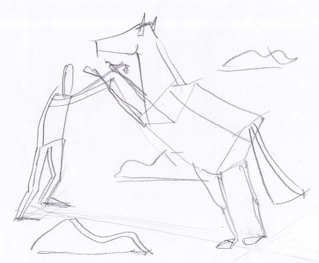 Človek in konj, 2009