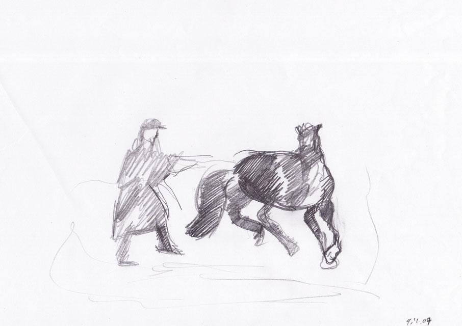 Lovilec konj, 2007